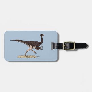 Etiqueta De Bagagem Ornithomimus