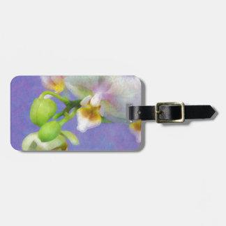 Etiqueta De Bagagem Orquídeas