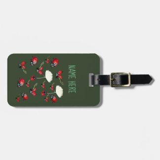 Etiqueta De Bagagem Os joaninhas personalizaram Tag da bagagem