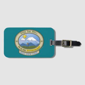 Etiqueta De Bagagem OTH…, Tag da bagagem com correia de couro