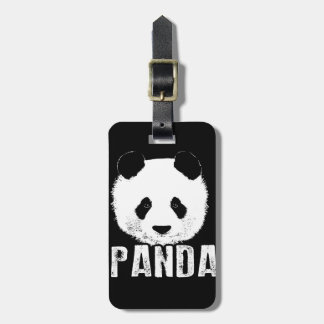 Etiqueta De Bagagem Panda