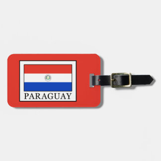 Etiqueta De Bagagem Paraguai