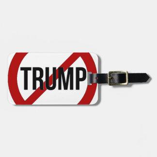 Etiqueta De Bagagem Pare o Anti-Trunfo de Donald Trump