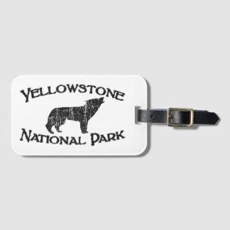 Etiqueta De Bagagem Parque nacional de Yellowstone