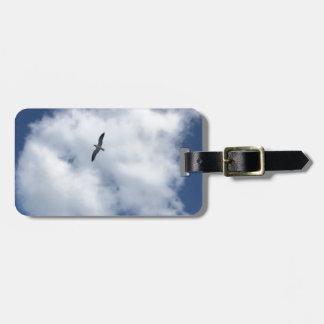 Etiqueta De Bagagem Pássaros nas nuvens