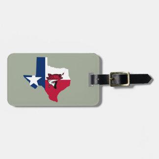 Etiqueta De Bagagem Pesca de Texas
