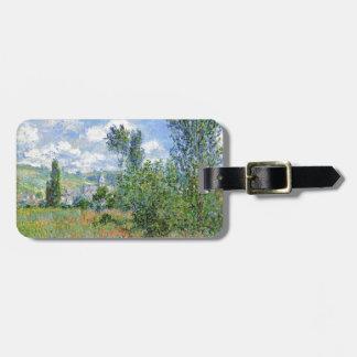 Etiqueta De Bagagem Pista nos campos da papoila - Claude Monet