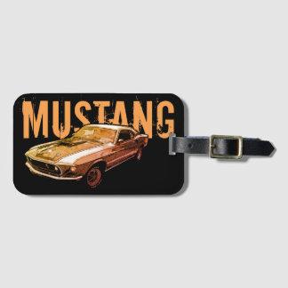 Etiqueta De Bagagem Poder mecânico do mustang