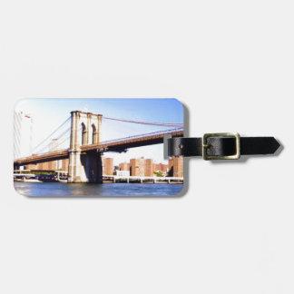 Etiqueta De Bagagem Ponte de Brooklyn