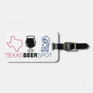 Etiqueta De Bagagem Ponto da cerveja de Texas