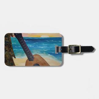 Etiqueta De Bagagem por do sol de Havaí