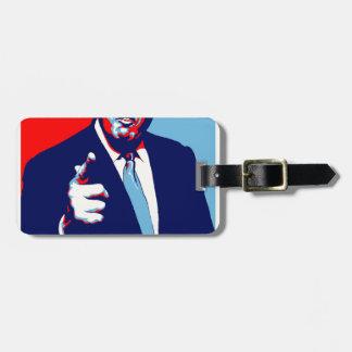 """Etiqueta De Bagagem Poster 2017 da paródia do """"medo"""" de Donald Trump"""