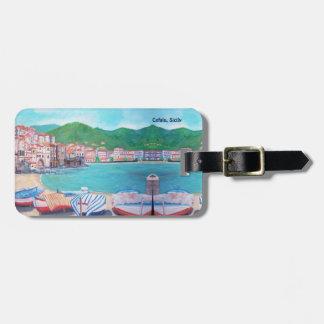 Etiqueta De Bagagem Praia de Cefalu, Tag da bagagem