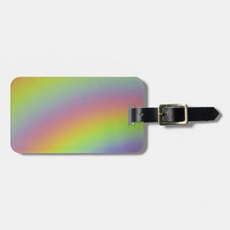 Etiqueta De Bagagem Produto do arco-íris
