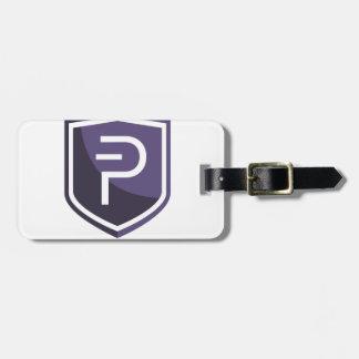 Etiqueta De Bagagem Protetor roxo PIVX