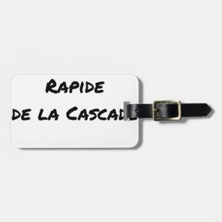 Etiqueta De Bagagem QUEDA RÁPIDA da CASCATA - Jogos de palavras