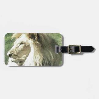Etiqueta De Bagagem Rei de animais