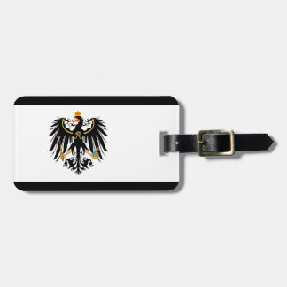 Etiqueta De Bagagem Reino Preussen estandarte de nacional