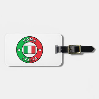 Etiqueta De Bagagem Roma Italia