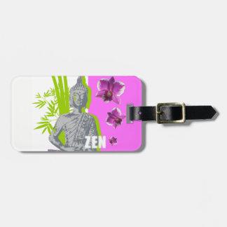 Etiqueta De Bagagem Rótulos à bagagens com relação em couro ZEN