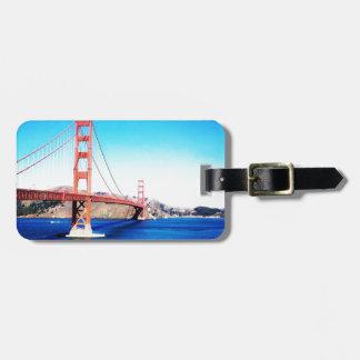 Etiqueta De Bagagem San Francisco golden gate bridge Califórnia