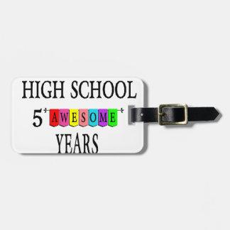 Etiqueta De Bagagem Segundo grau 5 Years.png impressionante