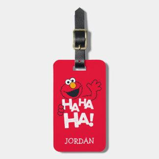 Etiqueta De Bagagem Sesame Street | Elmo - Ha Ha Ha!