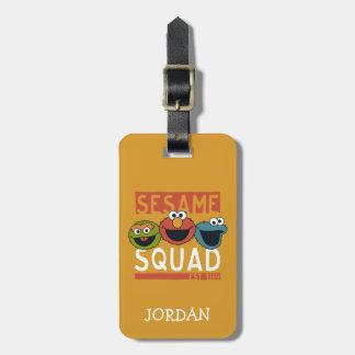 Etiqueta De Bagagem Sesame Street - pelotão do sésamo