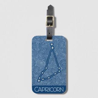 Etiqueta De Bagagem Sinal do horóscopo da estrela do Capricórnio - Tag