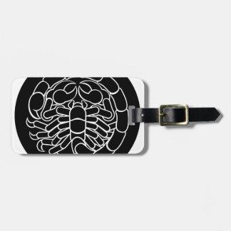 Etiqueta De Bagagem Sinal do zodíaco da Escorpião do escorpião