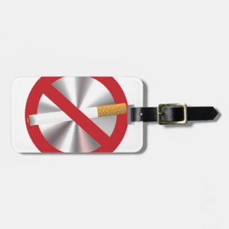 Etiqueta De Bagagem sinal não fumadores