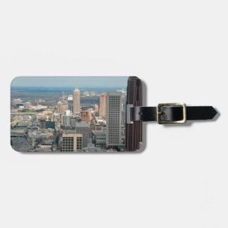 Etiqueta De Bagagem Skyline de Atlanta