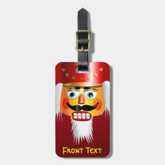 Etiqueta De Bagagem Soldado de brinquedo de noz do Nutcracker