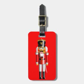 Etiqueta De Bagagem Soldado de brinquedo engraçado do Nutcracker