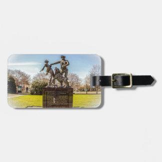 Etiqueta De Bagagem Soldados de infantaria no parque de Kelly Ingram
