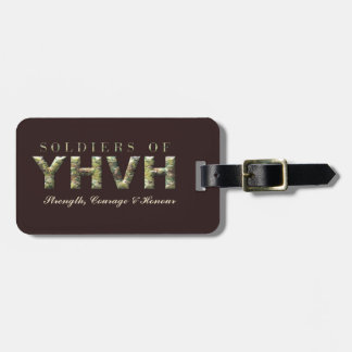 Etiqueta De Bagagem SOLDADOS do cristão de YHVH