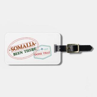 Etiqueta De Bagagem Somália feito lá isso