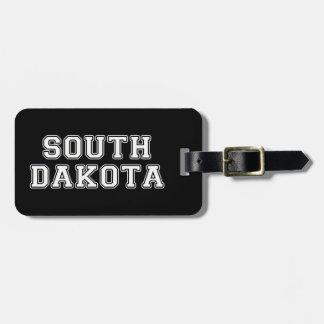 Etiqueta De Bagagem South Dakota