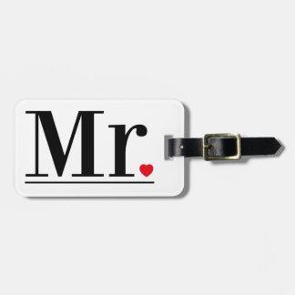 Etiqueta De Bagagem Sr. Bagagem Tag