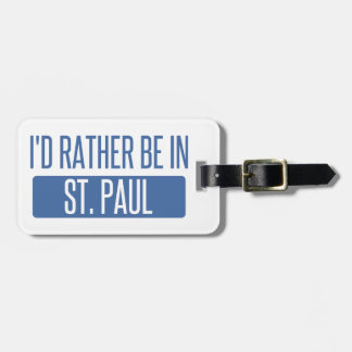 Etiqueta De Bagagem St Paul