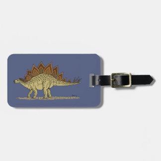 Etiqueta De Bagagem Stegosaurus