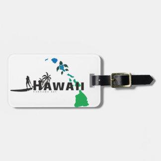 Etiqueta De Bagagem Surfar em Havaí 15