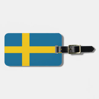 Etiqueta De Bagagem Svenska flaggan