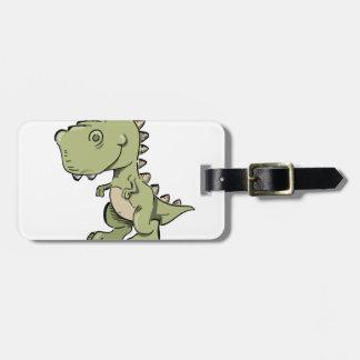Etiqueta De Bagagem T-Rex