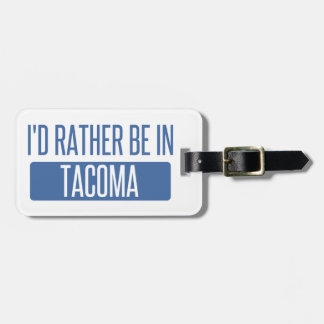 Etiqueta De Bagagem Tacoma