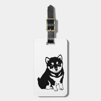 Etiqueta De Bagagem Tag 2018 chinês da bagagem do ano do cão de Shiba