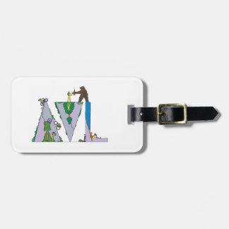 Etiqueta De Bagagem Tag   ASHEVILLE da bagagem, NC (AVL)