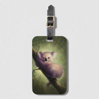 Etiqueta De Bagagem Tag bonito da bagagem do urso de Koala
