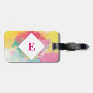 Etiqueta De Bagagem Tag brilhante personalizado da bagagem do