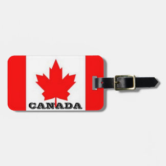 Etiqueta De Bagagem Tag canadenses da bagagem